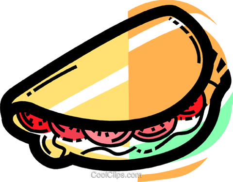 Sandwiches Royalty Free Vector Clip Art illustration vc110024