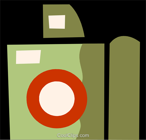 Cameras Royalty Free Vector Clip Art illustration vc110036