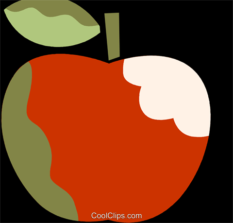 Apples Royalty Free Vector Clip Art illustration vc110092