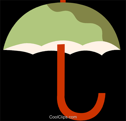 Umbrellas Royalty Free Vector Clip Art illustration vc110103