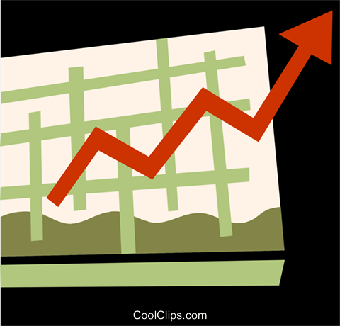 Charts Royalty Free Vector Clip Art illustration vc110138