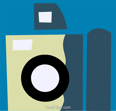 Cameras Royalty Free Vector Clip Art illustration vc110172