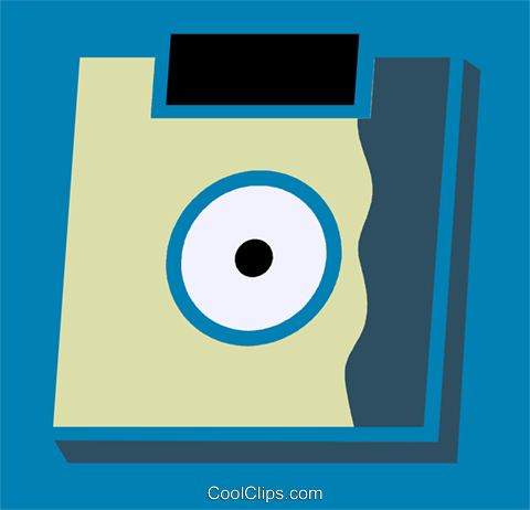 Diskettes Floppy Disks Royalty Free Vector Clip Art illustration vc110201