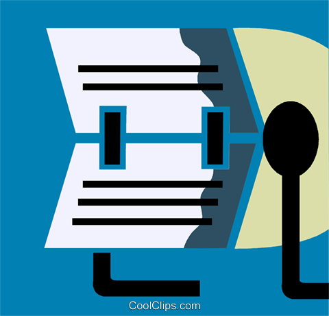 Rolodex Royalty Free Vector Clip Art illustration vc110202