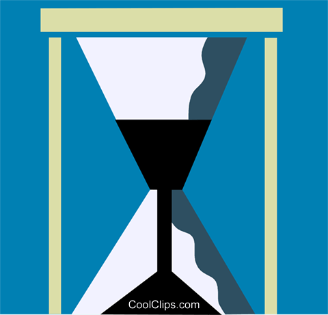 Hourglasses Royalty Free Vector Clip Art illustration vc110211