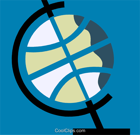 Globes Royalty Free Vector Clip Art illustration vc110225