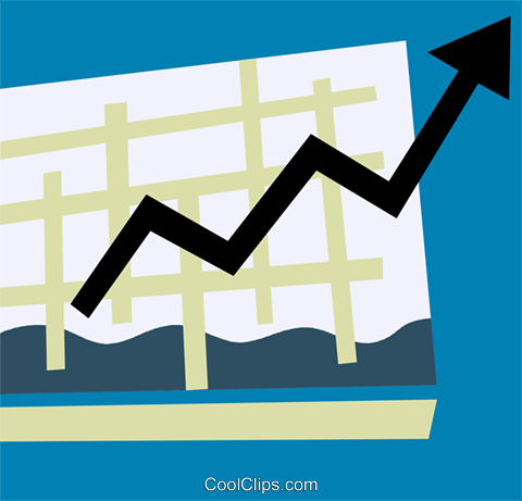 Charts Royalty Free Vector Clip Art illustration vc110274