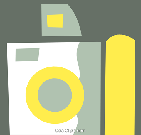 Cameras Royalty Free Vector Clip Art illustration vc110308