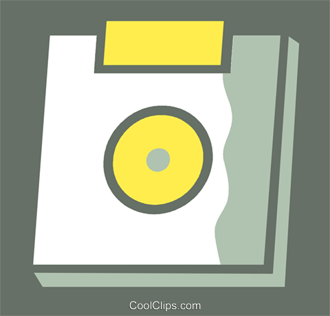 Diskettes Floppy Disks Royalty Free Vector Clip Art illustration vc110337