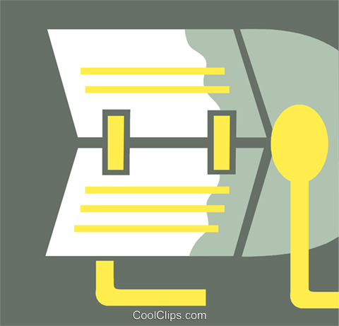 Rolodex Royalty Free Vector Clip Art illustration vc110338