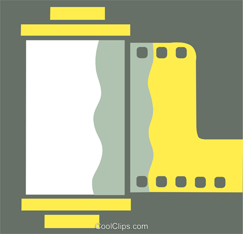 Film Royalty Free Vector Clip Art illustration vc110340