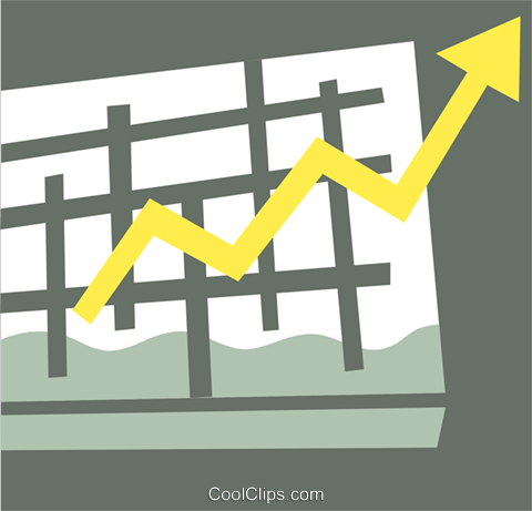 Charts Royalty Free Vector Clip Art illustration vc110410