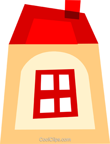 Urban Housing Royalty Free Vector Clip Art illustration vc110435