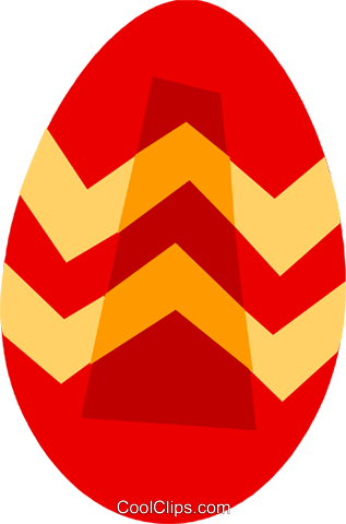 Easter Eggs Royalty Free Vector Clip Art illustration vc110479