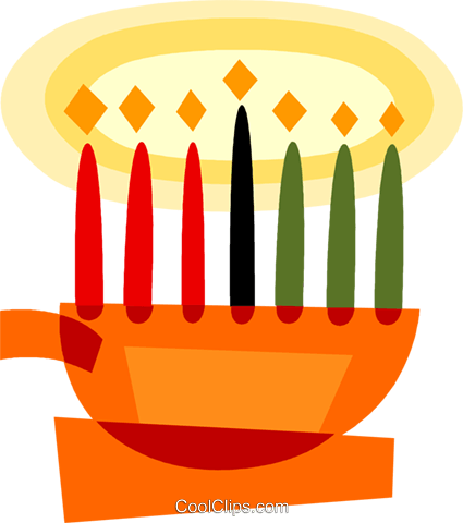menorah Royalty Free Vector Clip Art illustration vc110586