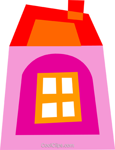 Urban Housing Royalty Free Vector Clip Art illustration vc110587