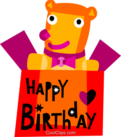 Birthday Presents Gifts Royalty Free Vector Clip Art illustration vc110665
