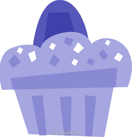 Muffins Royalty Free Vector Clip Art illustration vc110756