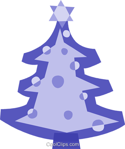 Christmas Trees Royalty Free Vector Clip Art illustration vc110805