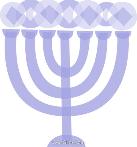 Menorahs Royalty Free Vector Clip Art illustration vc110824
