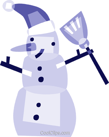 Snowmen Royalty Free Vector Clip Art illustration vc110858