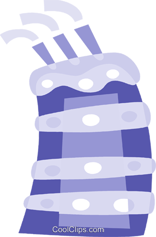 Birthday Cakes Royalty Free Vector Clip Art illustration vc110886