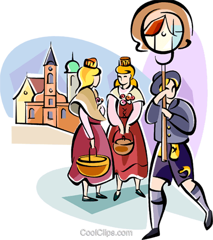 Bavarian Holiday Royalty Free Vector Clip Art illustration vc111122