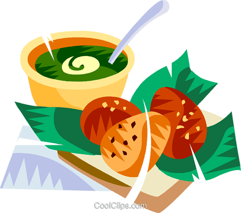 Brazilian deep fried black eye pea cakes Royalty Free Vector Clip Art illustration vc111146