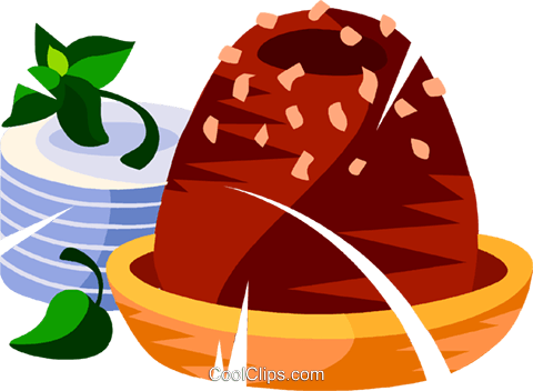 Brazilian chocolate fudge candy Royalty Free Vector Clip Art illustration vc111149