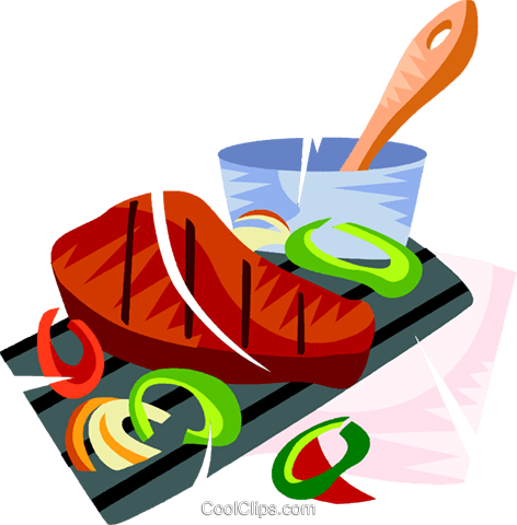 Churrasco, Brazilian barbecue Royalty Free Vector Clip Art illustration vc111151
