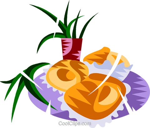 Empadinha, Brazilian meat filled pastry Royalty Free Vector Clip Art illustration vc111156