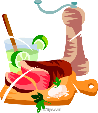 Confraira, Brazilian marinated meat Royalty Free Vector Clip Art illustration vc111162
