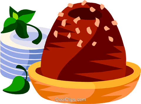 Brazilian chocolate fudge candy Royalty Free Vector Clip Art illustration vc111173