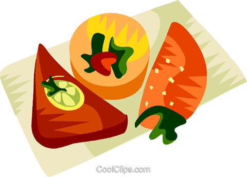 Empadinha, Brazilian meat pie Royalty Free Vector Clip Art illustration vc111181