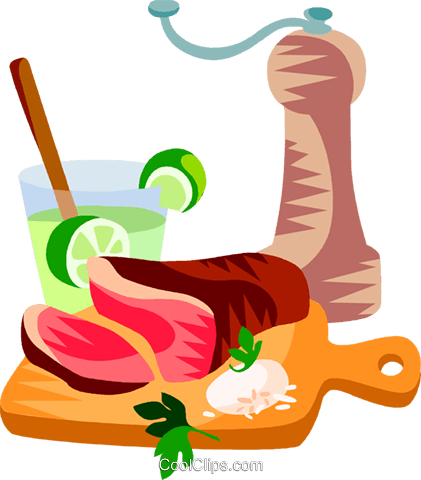 Confraira, Brazilian marinated meat Royalty Free Vector Clip Art illustration vc111186