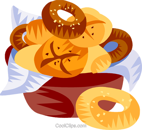 German breads and rolls Royalty Free Vector Clip Art illustration vc111200