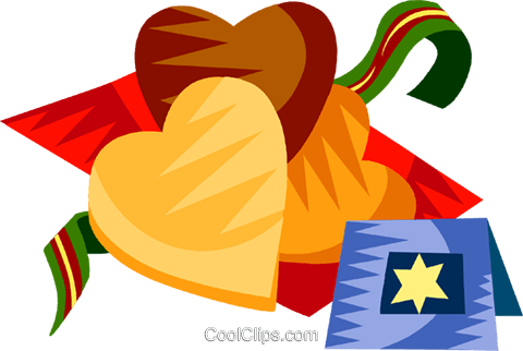 German Christmas cookies Royalty Free Vector Clip Art illustration vc111204
