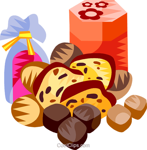 German Lebkuchen festive chest Royalty Free Vector Clip Art illustration vc111205