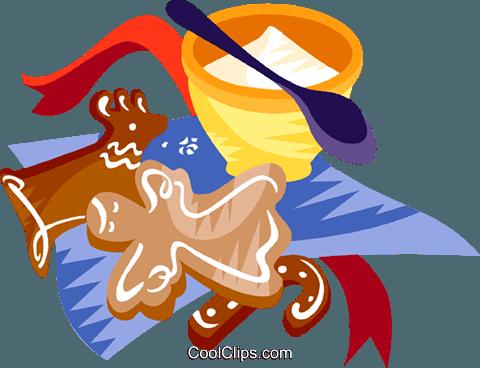 Weihnachtsplätzchen Clipart.German Christmas Cookies Royalty Free Vector Clip Art Illustration
