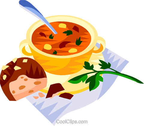 Hungary gulas soup Royalty Free Vector Clip Art illustration vc111216
