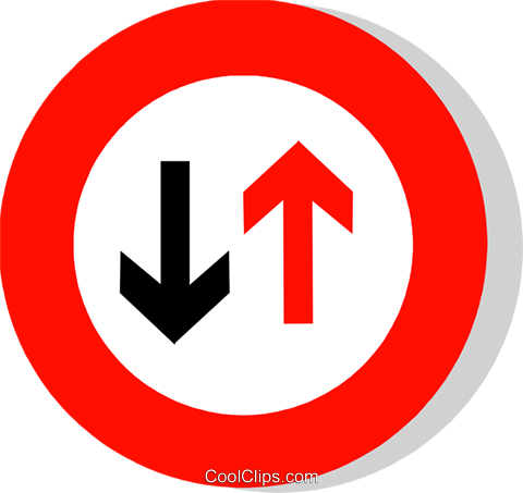 EU traffic sign Royalty Free Vector Clip Art illustration vc111227