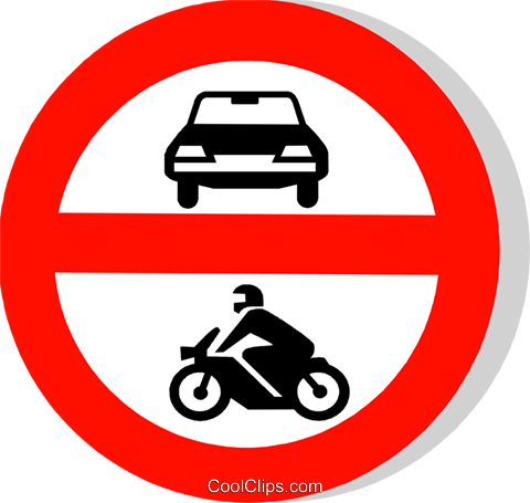 EU traffic sign Royalty Free Vector Clip Art illustration vc111245