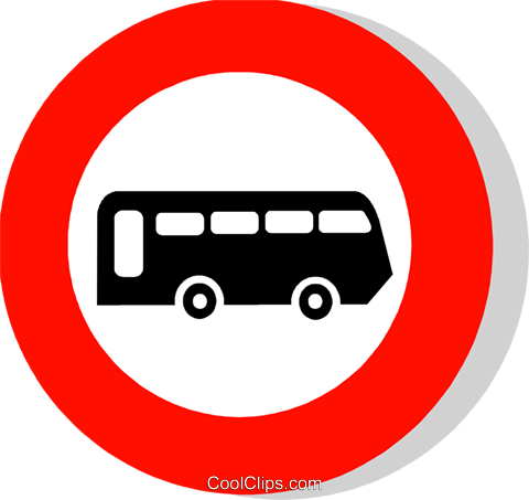 EU traffic sign Royalty Free Vector Clip Art illustration vc111247