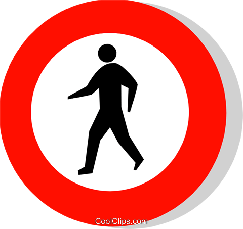 EU traffic sign Royalty Free Vector Clip Art illustration vc111252