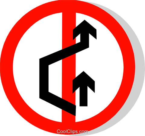 EU road sign Royalty Free Vector Clip Art illustration vc111287