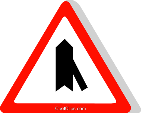 EU traffic sign Royalty Free Vector Clip Art illustration vc111301