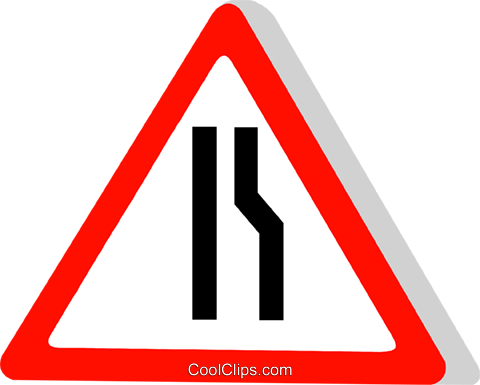 EU traffic sign Royalty Free Vector Clip Art illustration vc111303