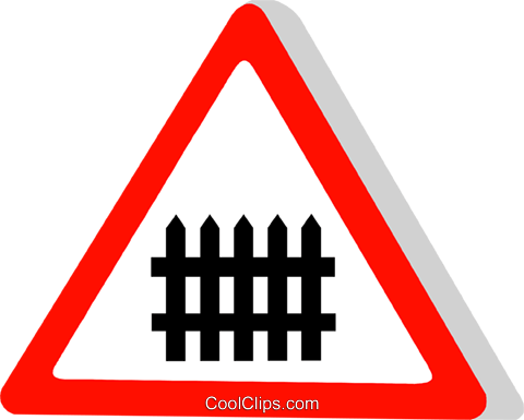 EU traffic sign Royalty Free Vector Clip Art illustration vc111311