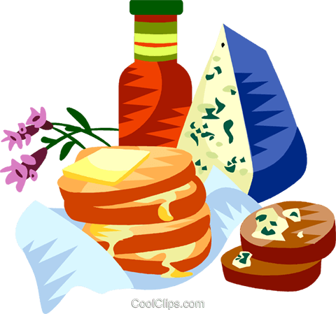 EU European cuisine Royalty Free Vector Clip Art illustration vc111356