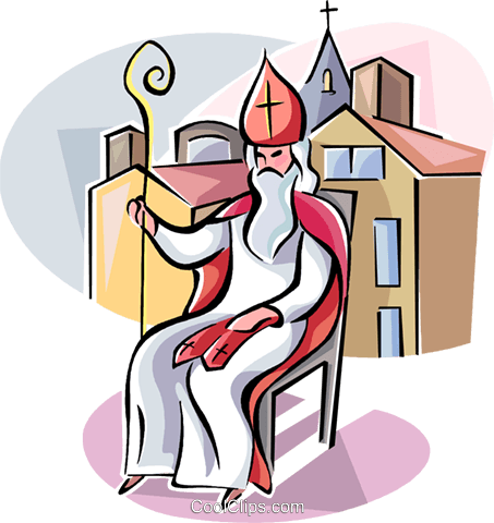 Religious Holidays Netherlands Slovenia Royalty Free Vector Clip Art illustration vc111404